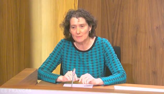 La directora de la AgenciaNavarra de Autonomía y Desarrollo de las Personas del Departamento de Derechos Sociales, Inés Francés.