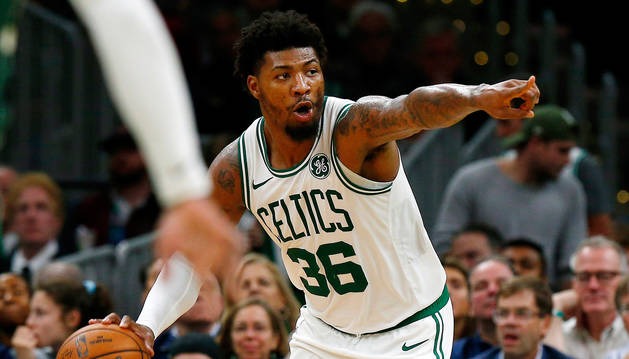 foto de El base-escolta Marcus Smart, de los Celtics de Boston