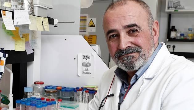 Foto del catedrático de Microbiología Ignacio López-Goñi.