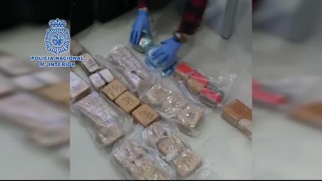 La Policía Nacional interviene en Marbella un alijo de 27 kilos de heroína