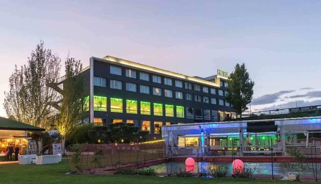 Imagen general del Hotel Villa de Castejón.
