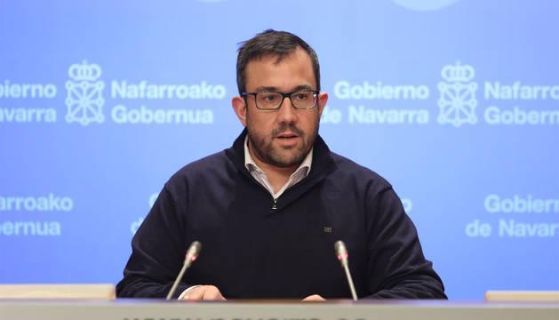 El vicepresidente navarro, Javier Remírez.