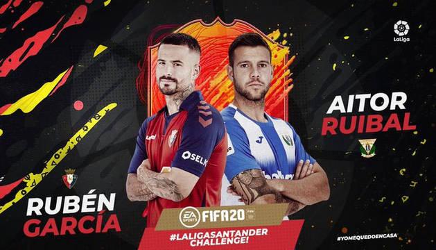 Rubén García cayó frente a Aitor Ruibal en el torneo el torneo de FIFA20.