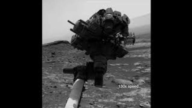 Así se saca un selfie el rover Curiosity en Marte