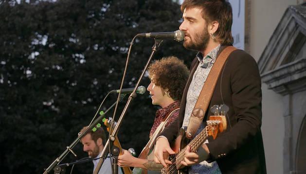 Foto del grupo Con X The Banjo, entre los artistas que se han sumado a la iniciativa.