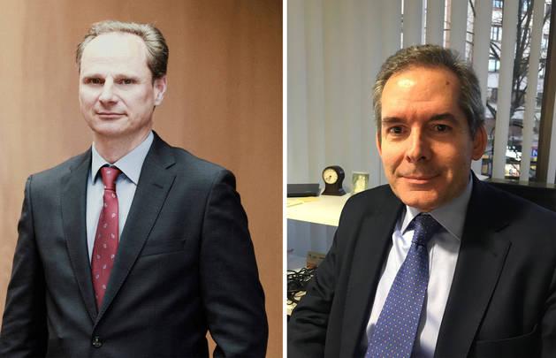 Foto de Javier Catalán y José María Arregui.