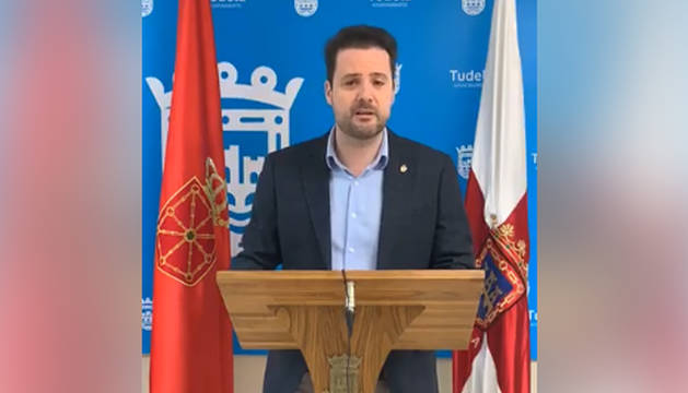El alcalde de Tudela, Alejandro Toquero.