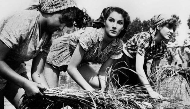 Foto de 'Arroz amargo', película del italiano Giuseppe de Santis.