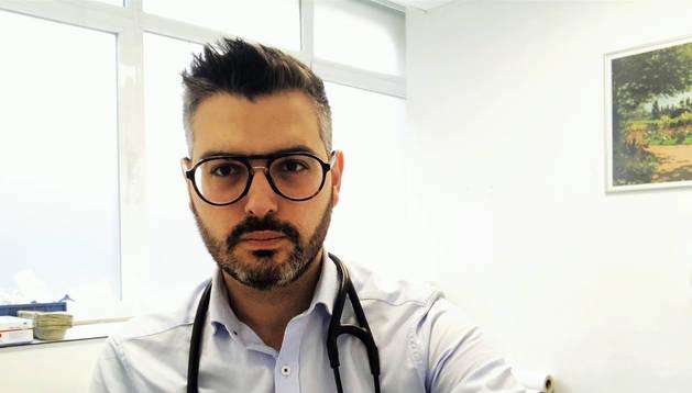 El ribaforadero Alberto Orta Ruiz, médico residente en el Hospital Jiménez Díaz de Madrid.