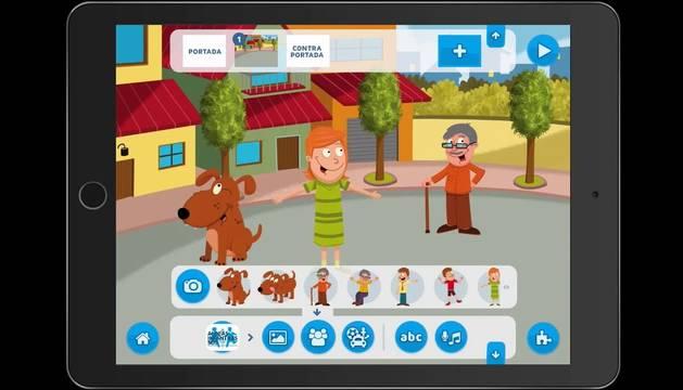 CreAPPcuentos, una app para crear cuentos en casa con niños