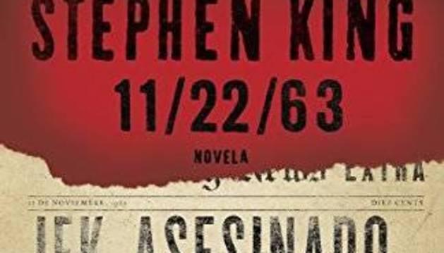 Foto de la portada del libro '22/11/1963', de Stephen King.