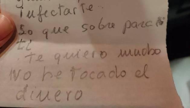 La lista de la compra de una anciana que se ha hecho viral
