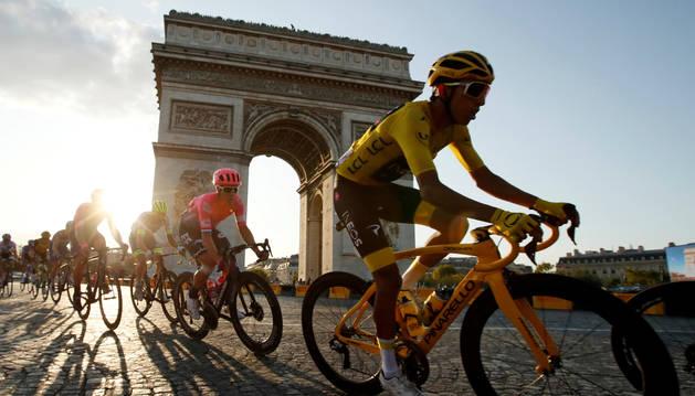 Foto del Tour de Francia de 2019.