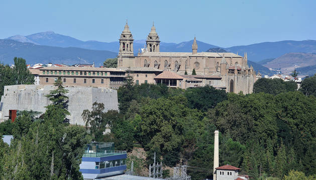 Catedral de Pamplona.