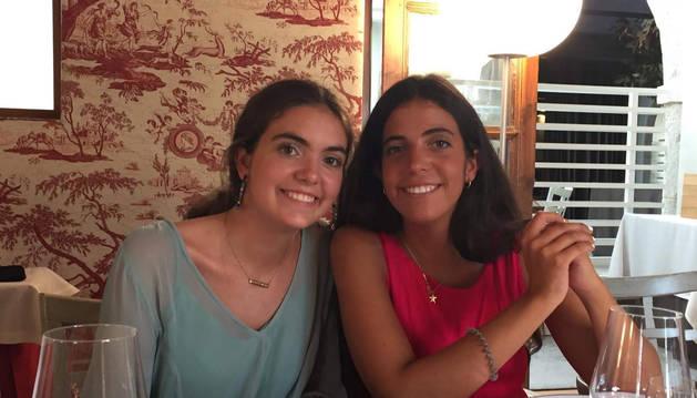 Foto de Marina Andrés (izquierda) y Elena Andrés, promotoras de la iniciativa.