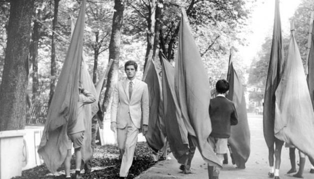Una escena de la película Antes de la revolución.
