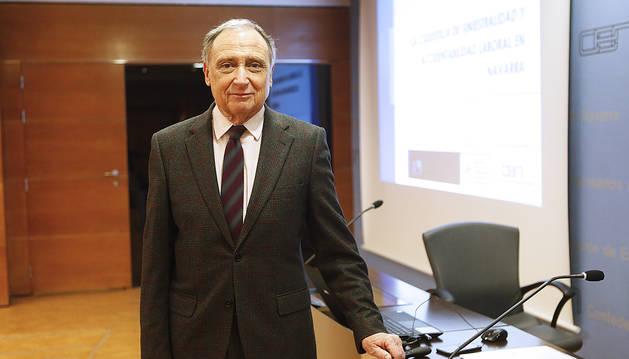 José Antonio Sarría, en una imagen anterior.