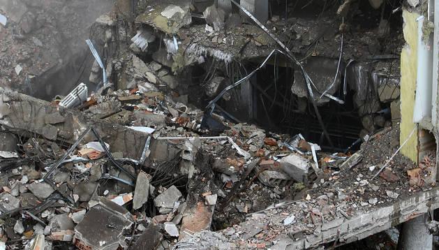 'Audrey entre los escombros', de José Carlos Cordovilla.