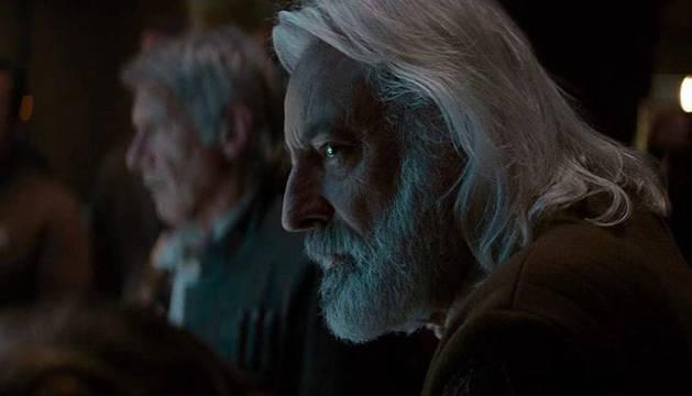 Andrew Jack, en una de las películas de Star Wars.
