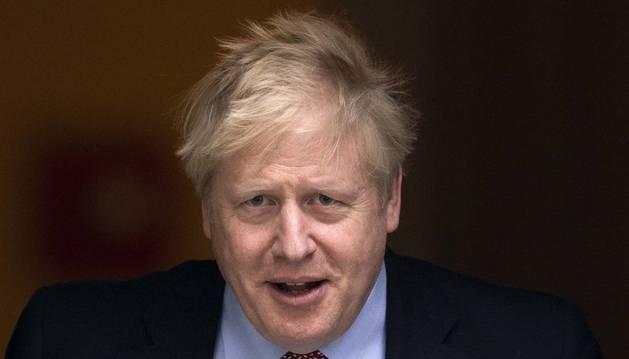 Foto de Boris Johnson.