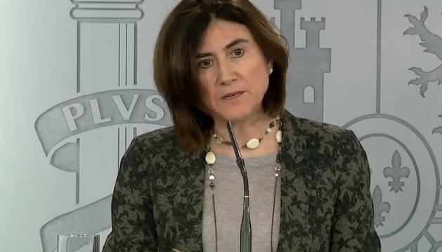 La jefa de área del Centro de Coordinación de Alertas y Emergencias Sanitarias del Ministerio de Sanidad, María José Sierra.