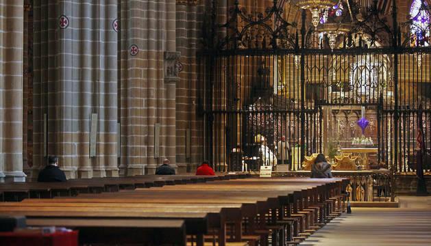 Foto de la Misa Crismal de la catedral.