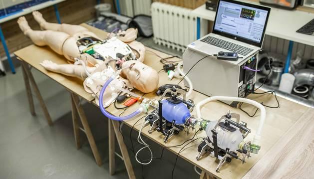 El objetivo, lanzar un nuevo dispositivo válido clínicamente para apoyar al personal sanitario a cubrir la demanda de aparatos respiradores.