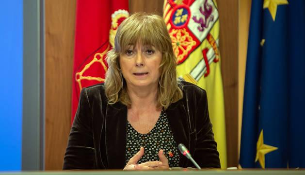 Ana Ollo, consejera de Relaciones Ciudadanas.