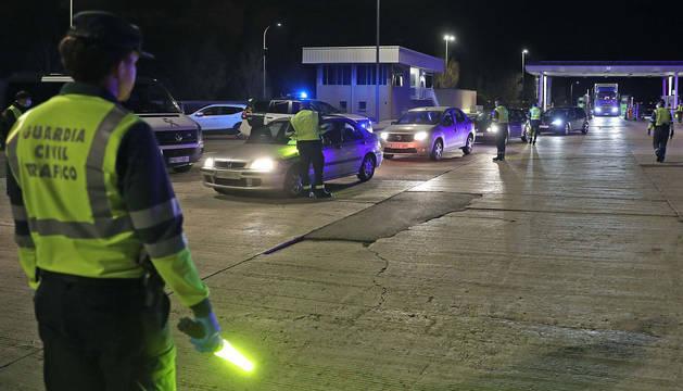 foto de A las diez y media de la noche, coincidiendo con el final de los turnos, se registró el momento con mayor paso de vehículos.