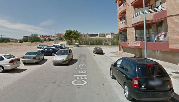 Calle Francisco Belmonte, donde tuvo lugar la pelea.