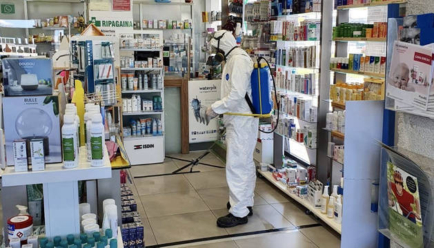 foto de Desinfección de la farmacia Ripagaina 24h