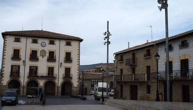 Foto del Ayuntamiento de Aibar.