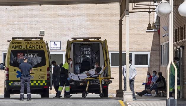 Urgencias del Hospital García Orcoyen de Estella.