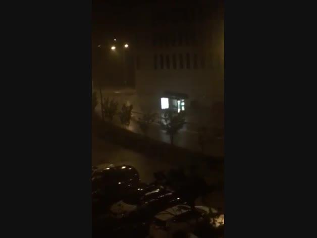 Vídeo: Tormenta en Mutilva