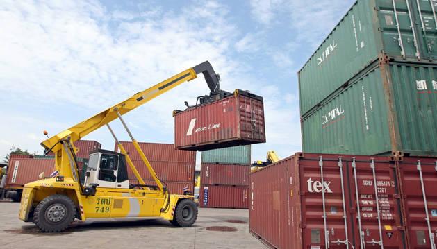 Las exportaciones de Navarra crecen un 2,5% en enero y febrero