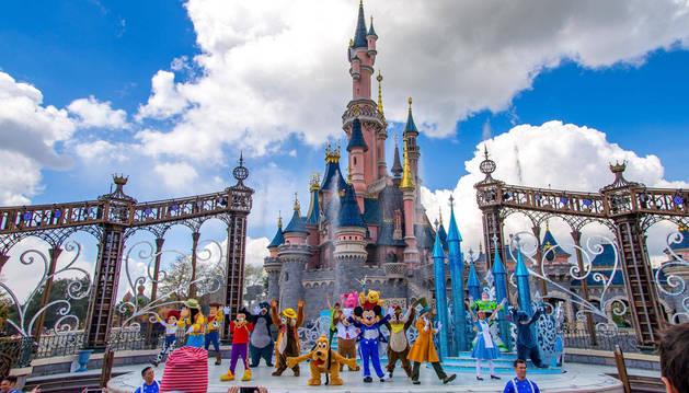 A jugar en Disneyland París
