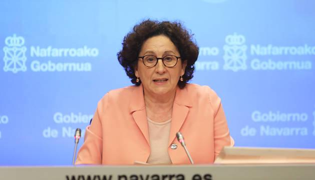 Comparecencia de la consejera Mª Carmen Maezu para evaluar los datos del paro de abril de 2020.