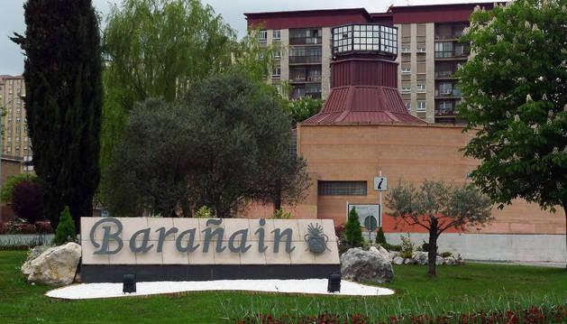 Imagen de archivo de la entrada a Barañáin.