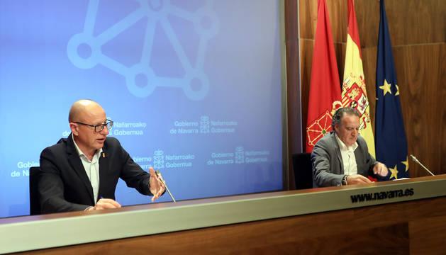 De izquierda a derecha: Carlos Gimeno y Tomás Rodríguez Garraza.