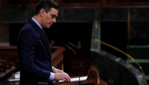 Sánchez anuncia luto nacional en cuanto España entre en la fase 1