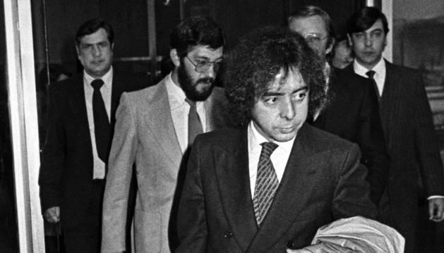 Fotografía de archivo (20/11/1981), del expolicía de la Brigada Político Social del franquismo Antonio Fernández Pacheco, 'Billy el Niño', acusado de crímenes de lesa humanidad por torturas.