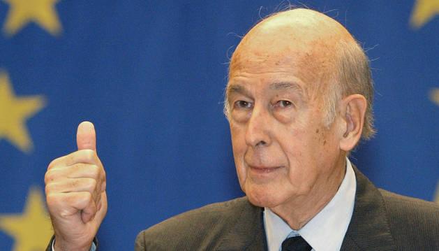 Valéry Giscard d'Estaing, en una imagen de 2003.