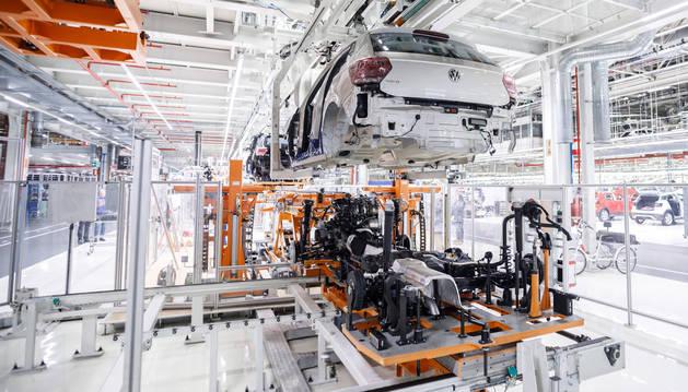 foto de Taller de montaje de Volkswagen Navarra