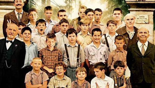Los protagonistas de la película.