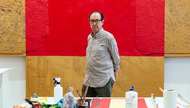 "Rafael Canogar: ""Esta obra responde a mis deseos de liberación del caos"""