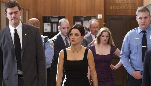 La actriz Julia Louis-Dreyfus protagoniza la serie.