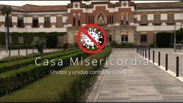 Vídeo: El mensaje de ánimo de los trabajadores y los residentes de la Casa de la Misericordia de Pamplona