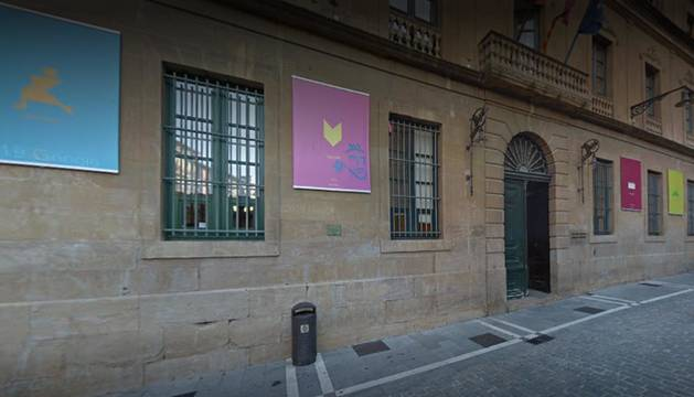 Sede del Departamento de Cultura en la calle Navarrería.