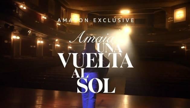 Amaia Romero acaba de estrenar el documental 'Una vuelta al sol'.
