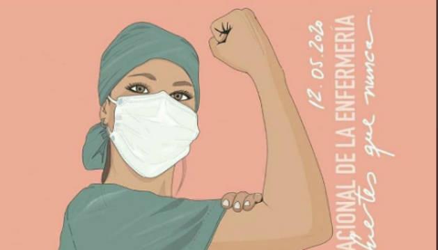 Uno de las imágenes que difunde el Día internacional de la Enfermería.